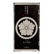 京都染織謹製 家紋てぬぐい 丸に唐花 Z-00352