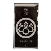 京都染織謹製 家紋てぬぐい 丸に中陰五三桐 Z-00360