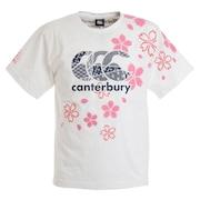 ラグビー ジャパンワンチームブロッサムTシャツ 日本代表 桜ロゴ RA30301 10 白 ホワイト