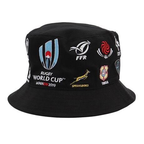 RWC2019 20 UNIONS COLLECTION ハット BLK R33178