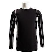長袖クルーシャツ 786PG8ES1058 BK/GY オンライン価格