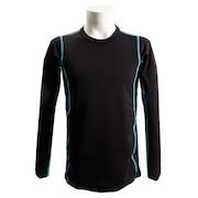 長袖クルーシャツ 786PG8ES1058 BK/SX オンライン価格