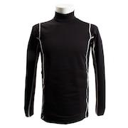 長袖ハイネックシャツ 786PG8ES1059 BK/GY オンライン価格