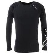 サーマルコンプレッション ロングスリーブシャツ MA3021A-BLK/BLK
