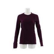【多少の傷汚れありの為大奉仕】NATURAL 100 MERINO WARM ベースレイヤー 長袖Tシャツ 110411 BLKXBLUE オンライン価格