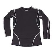 WIND-X 長袖クルーネックシャツ 786PG8ES1061 BK/GY オンライン価格