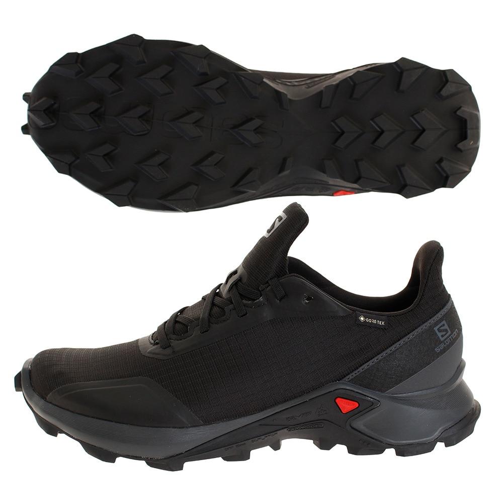 L40805100 Salomon Men/'s Alphacross GTX Trail Running Black Shoes  PN