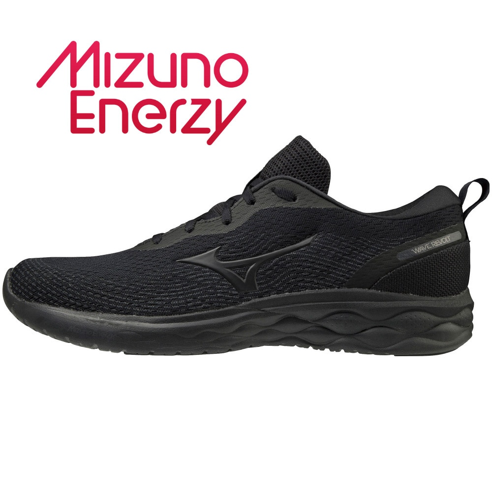 MIZUNO ランニングシューズ WAVE REVOLT WIDE J1GC208574 ジョギングシューズ 27.5 90 アウトドア