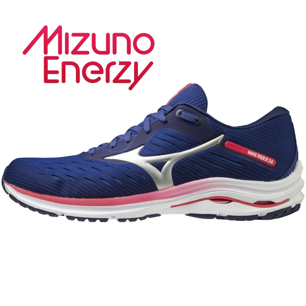 MIZUNO ランニングシューズ ウェーブライダー WAVE RIDER 24 J1GC200320 ジョギングシューズ 26.5 157 アウトドア