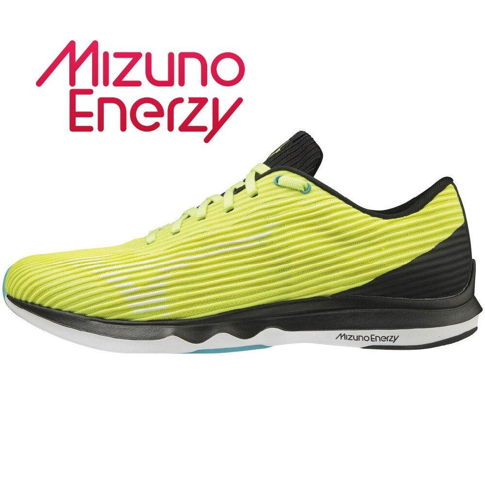 MIZUNO ランニングシューズ WAVE SHADOW 4 ワイド J1GC202701 ジョギングシューズ 26.5 123 アウトドア