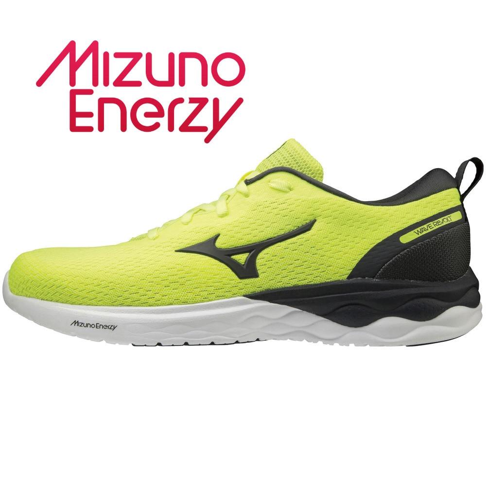 MIZUNO ランニングシューズ WAVE REVOLT J1GC208133 ジョギングシューズ 25.0 130 アウトドア