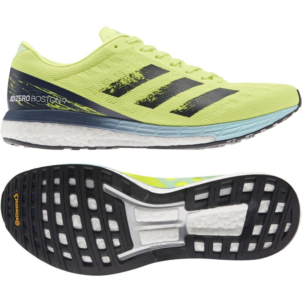 adidas(並) ランニングシューズ アディゼロ ボストン ADIZERO BOSTON 9 H68740 ジョギングシューズ 28.0 20 アウトドア