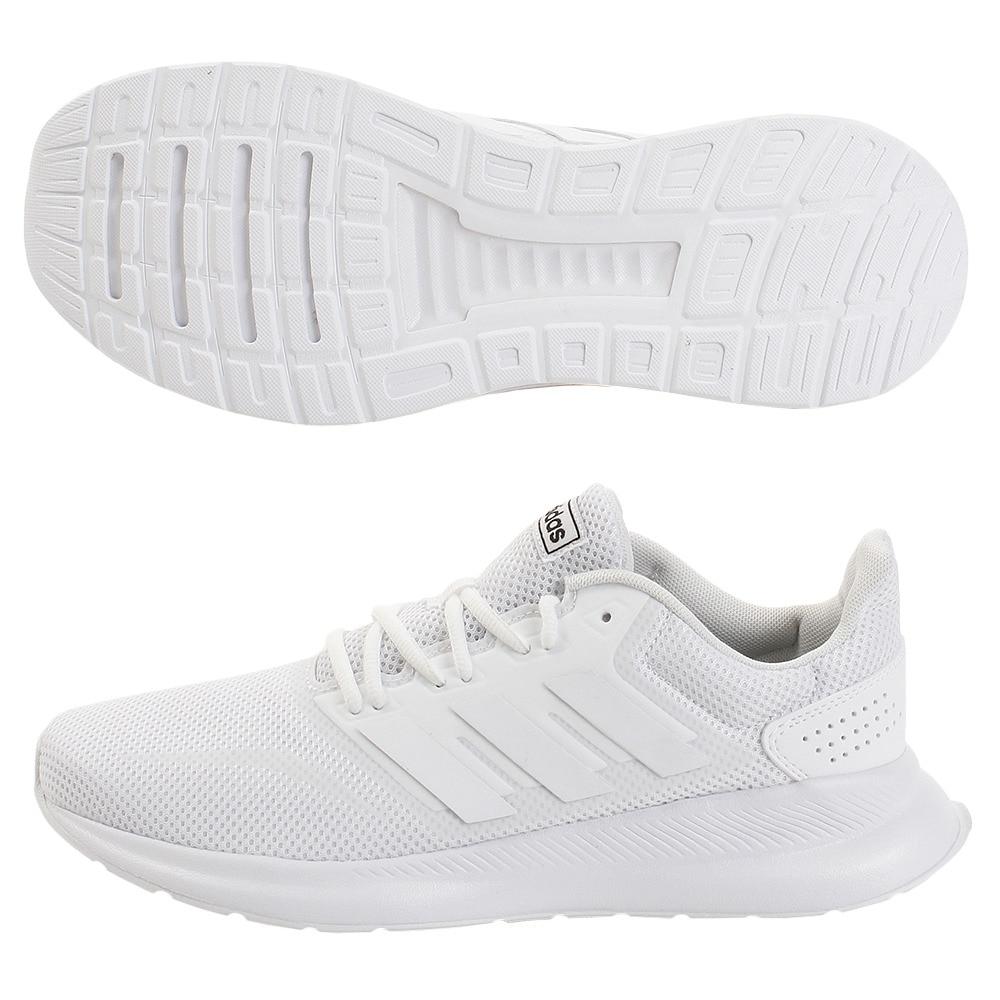 adidas(並) ランニングシューズ FALCONRUN M G28971 白 ホワイト 25.5 10 シューズ