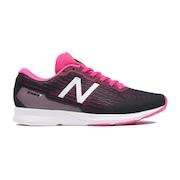 ランニングシューズ W HANZO TB2 D トレーニングシューズ 部活ブラック×ピンク マラソン