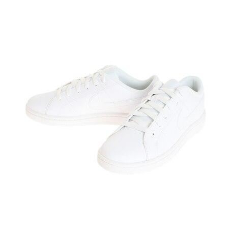 スニーカー コートロイヤル2 SL 白 CW2533-101 学生通学靴 ホワイトシューズ