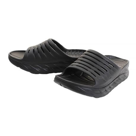 サンダル メンズ オラ リカバリー スライド 1099673-BBLC リカバリーサンダル ブラック 黒