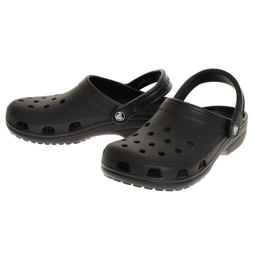 crocs クラシック クロッグ Black 10001-001 23.0 90 シューズ・サンダル