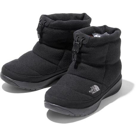 ブーツ ヌプシブーティー ウール V ショート NFW51979 K スノーブーツ  スノーシューズ 撥水 防滑 雪 滑りにくい