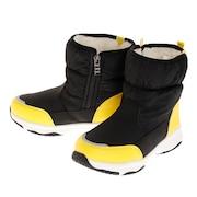 ジュニア ブーツ SNOWMAN J1980K-Black/Yellow カジュアルシューズ