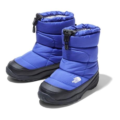 ジュニア  ブーツ ヌプシ ブーティ ウォータープルーフ NFJ51980 PP 雪 滑りにくい