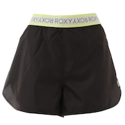 撥水 ショーツ MY 1ST ROXY SHORTS RPT211515BLK1