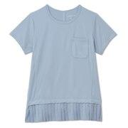ハイブリッドプリーテッド Tシャツ DC521117 BE