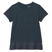 ハイブリッドプリーテッド Tシャツ DC521117 NS