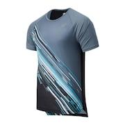 Hanzo グラフィック半袖 Tシャツ MT11288VLS