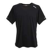 ランニング エアロ 半袖 Tシャツ MR6557A-BLK/SRF