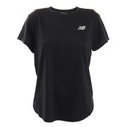 ベーシックショートスリーブTシャツ AWT11220BK