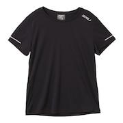 ランニング エアロ 半袖 Tシャツ WR6565A-BLK/SRF