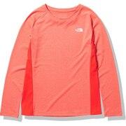 ランニング GTDメランジクルー 長袖Tシャツ NTW12096 FL
