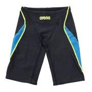 競泳水着 メンズ 水泳 アクアレーシングスパッツ FINA承認 ARN-0052MN NVBU