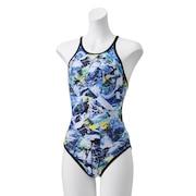 競泳水着 レディース 水泳 プリズムスプラッシュターンズスーツ STW02152 BF