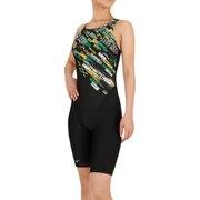 レディース 水泳 アクアフィットネス用 オールインワン水着 N2JG080394