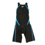 ガールズ 水着 ジュニア 水泳 フレックスシグマ2 オープンバックニースキン FINA承認 SCG11909F TQ