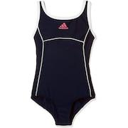 スクール水着 女の子 水泳 ガールズ Uバッグワンピース水着 ELE65-CX1990  ネイビー 紺ジュニア 女児 女子