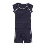 スクール水着 ジュニア 女子 水泳 20SP ガールズ 袖付セパレーツ 1981904-01