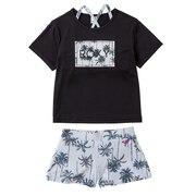 水着 女の子 ラッシュTシャツ付き ビキニ セット MINI PALM SHADOW 20SPTSW201102WHT