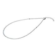チタン水晶ネックレス 3mm玉 50cm 0515AQ812053
