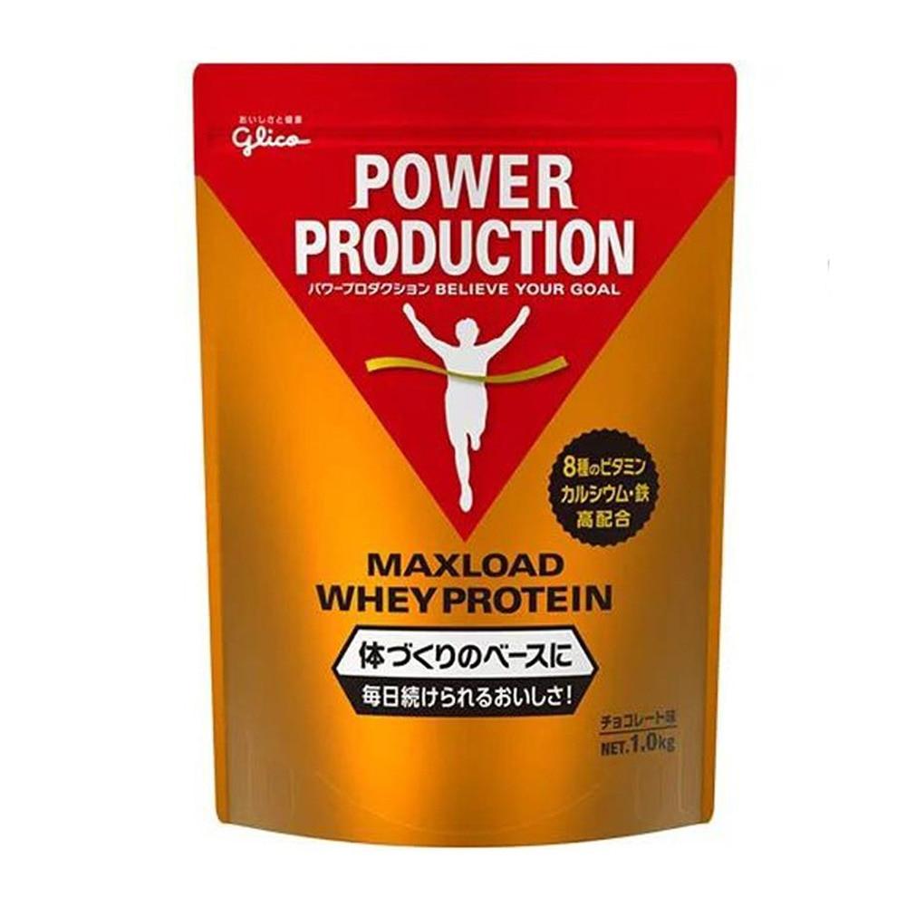 グリコ マックスロード ホエイプロテイン パウダー チョコレート風味 1kg FF 0 アクセサリー