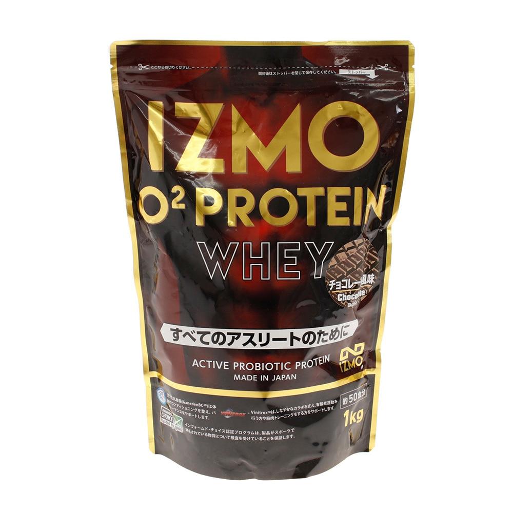 IZMO IZMO O2 プロテイン ホエイ100 乳酸菌 マルチビタミン配合 チョコレート風味 1000g 約50食入 FF 0 ストリート系スポーツ
