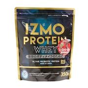 IZMO プロテインホエイ100 ストロベリー風味 350g