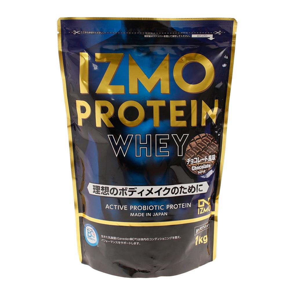 IZMO IZMO プロテイン ホエイ100 乳酸菌配合 筋トレ たんぱく質 チョコレート風味 1000g 約50食入 FF 0 ストリート系スポーツ