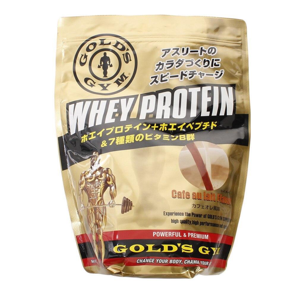 GOLD'S GYM ホエイプロテイン カフェオレ風味 720g F5772 FF 0 トレーニング