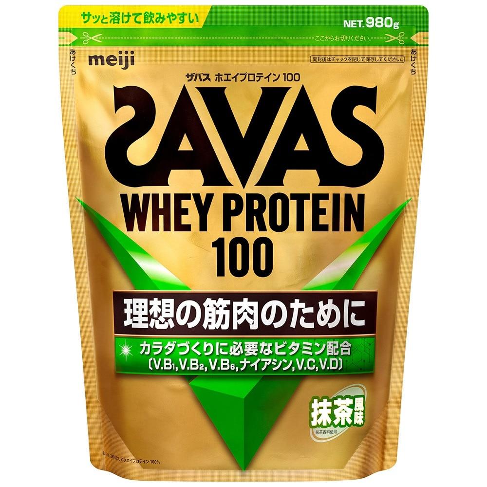 SAVAS ホエイプロテイン 100 抹茶風味 CZ7391 1050g 約50食入 FF 0 トレーニング