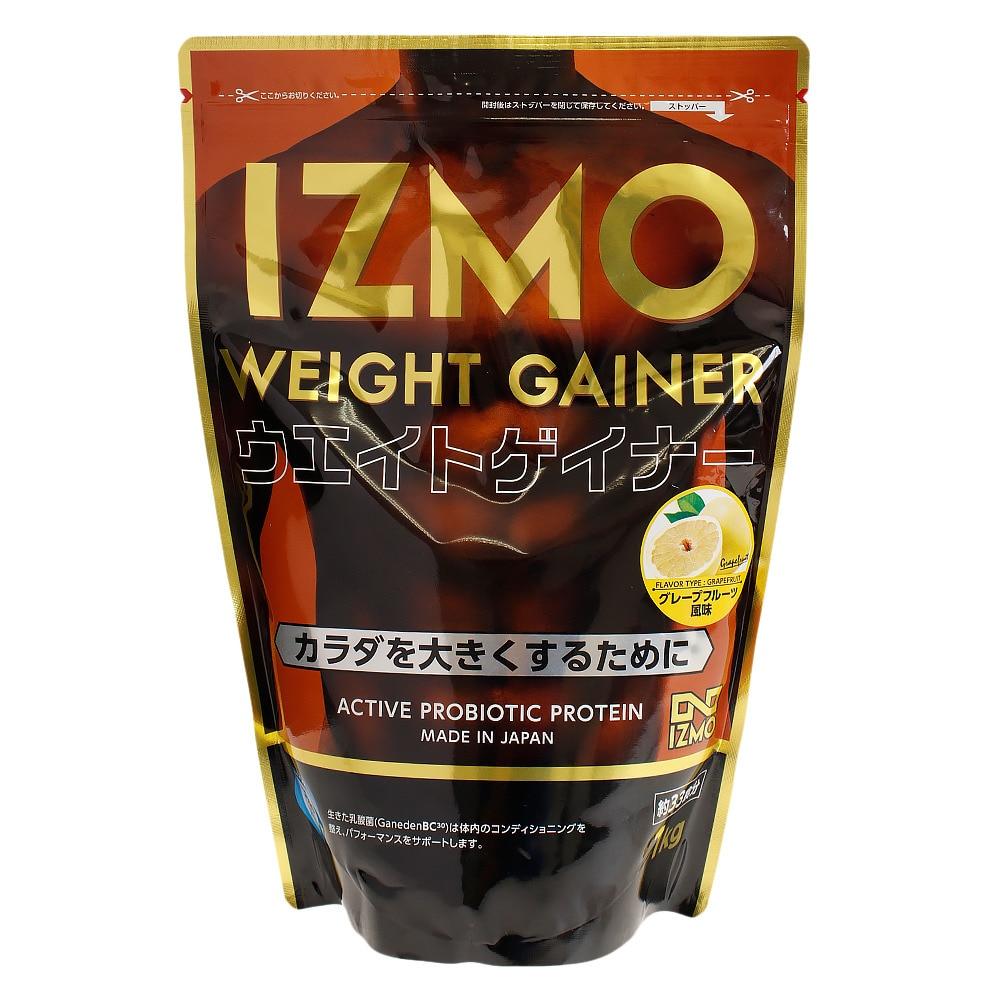 IZMO IZMO ウエイトゲイナープロテイン グレープフルーツ風味 1kg オンライン価格 FF 0 食品・ドリンク・ボトル