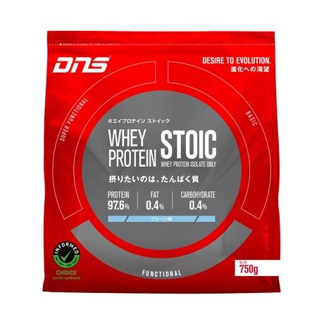 ホエイプロテイン ストイック プレーン味 750g DNS20