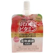 1日分のビタミンゼリー 食物繊維 ピーチ味 HUS89091