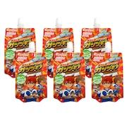 【6個入り】アミノバイタル ゼリードリンク ガッツギア りんご味 250g